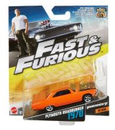 Fast & Furious 1:55th Die-Cast Vehicle Plymouth Roadrunner 1970 - FCF37